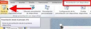 Power Point 2010: Usar tu mouse como apuntador
