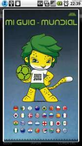 Mundial Sudafrica 2010 en tu android