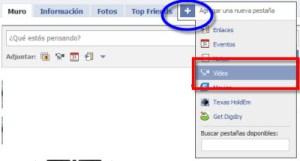 Como subir videos a Facebook