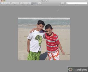 Como recortar fotos con Vista Previa
