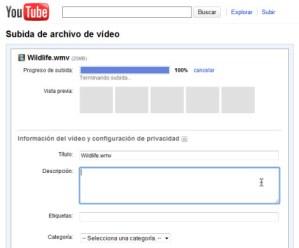 YouTube aumenta a 15 minutos el limite de subida