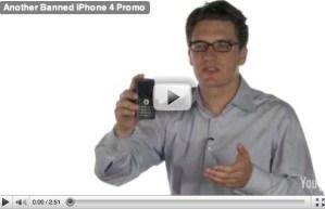 Parodia de los comerciales del iPhone 4