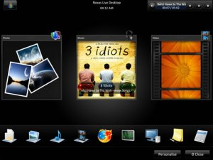 Temas windows, Noxas Live Desktop