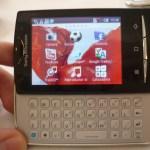 Nueva gama de celulares Sony Ericsson Xperia - Hands-on-Xpreria-Mini-Pro-1