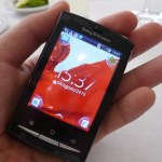 Nueva gama de celulares Sony Ericsson Xperia - Hands-on-Xpreria-Mini-Pro