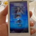 Nueva gama de celulares Sony Ericsson Xperia - Hands-on-Xpreria-x10-1