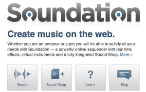 Crea y comparte música online con Soundnation Studio