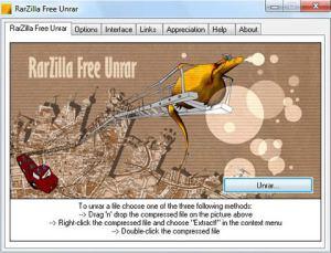 Abrir archivos Rar con RarZilla
