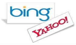 El motor de búsquedas de Yahoo es Bing