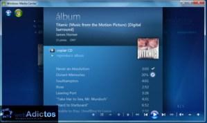 Crear una lista de reproducción en Windows Media Center