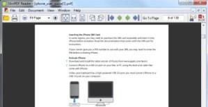 Visor de PDF liviano, SlimPDF