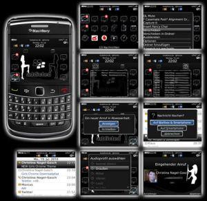 Temas blackberry, Girls Chrome