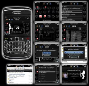 Temas blackberry, Girls Chrome