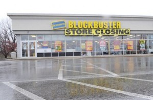 Blockbuster en quiebra