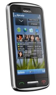 Nokia E7, Nokia C6 y Nokia C7 - Nokia-C6-02