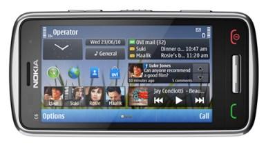 Nokia E7, Nokia C6 y Nokia C7 - Nokia-C6-04