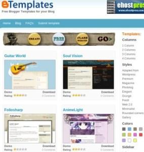 Descarga cientos de temas para Blogger con BTemplates