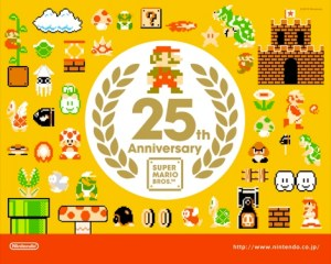 Wallpapers conmemorativos de Mario Bros