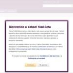 Nuevo correo yahoo beta
