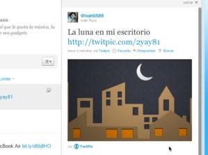 Compartir imágenes en Twitter desde Twitpic