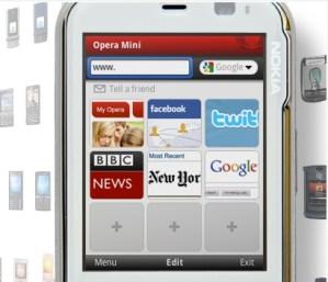 Opera mini 5.1 disponible para Symbian