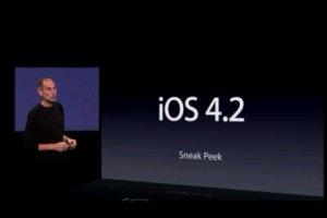 El iOS 4.2 aparentemente mejora el rendimiento en el iPhone 3G