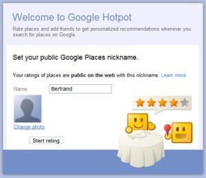 Google Hotpot, el nuevo servicio de recomendaciones locales