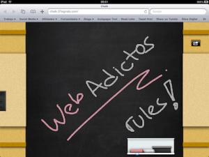 Aplicación web para el iPad – Chalk