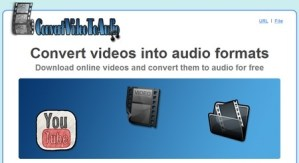 Convertir videos a audio con Convert Video to Audio