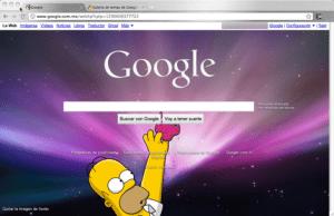 Como colocar una imagen de fondo a tu página de inicio de Google