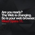 Opera 11 disponible para descargar - Opera-11