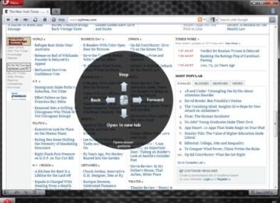 Opera 11 disponible para descargar - opera11-windows-visual-mouse-2