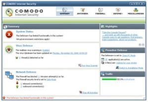 Firewall y Antivirus con Comodo Internet Security