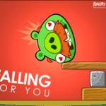 Postales para San Valentín de Angry Birds - Falling_Big