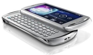 Sony Ericsson Xperia Pro - Xperia-pro-Silver