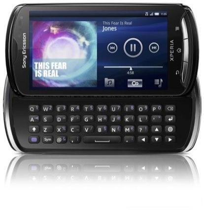 Sony Ericsson Xperia Pro - Xperia-pro-open-Black