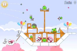 Angry Birds Hogs And Kisses ya disponible - angry-birds-amor