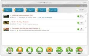 Convertir videos con Freemake Video Converter