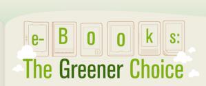Los e-Books, una opción muy ecológica [Infografía]