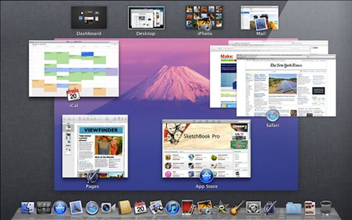 Mac OS X Lion Preview Mission Control La historia de Mac OS X en imágenes