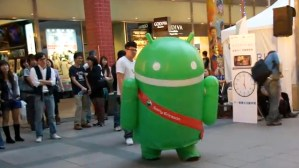 Android puede bailar [video]