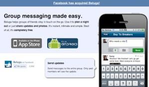 Facebook adquiere a la startup Beluga