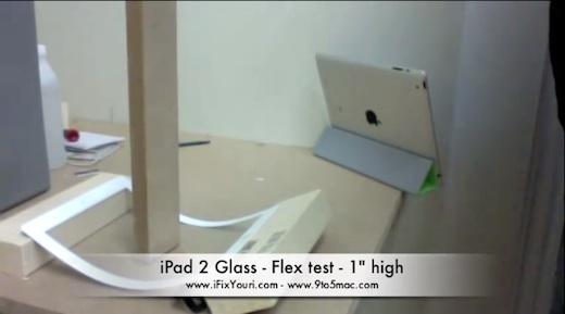 Prueba de la resistencia del cristal del iPad 2 - iPad-2-resistencia-del-cristal