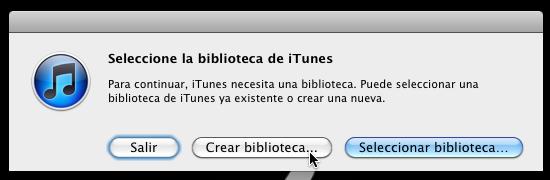 Cómo usar varias bibliotecas de iTunes en una sola computadora - itunes-multiples-bibliotecas-3
