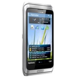 Nokia E7 llega en Abril a América latina - nokia-e7-silver-white-front-l