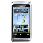 Nokia E7 llega en Abril a América latina - nokia-e7-silver-white-front