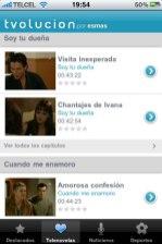 Tvolucion para iPhone y iPad - novelas-televisa