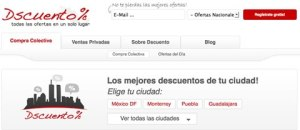 Ofertas de compras colectivas en un solo lugar, Dscuento.com.mx