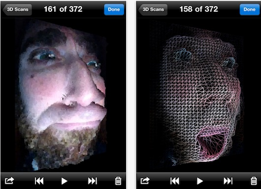 Haz modelos tridimensionales con 3D Scanner para iOS - 3d-scanner-for-iphone