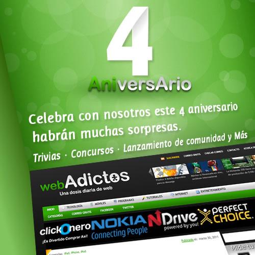 4º Aniversario de WebAdictos - 4-aniversario-webadictos